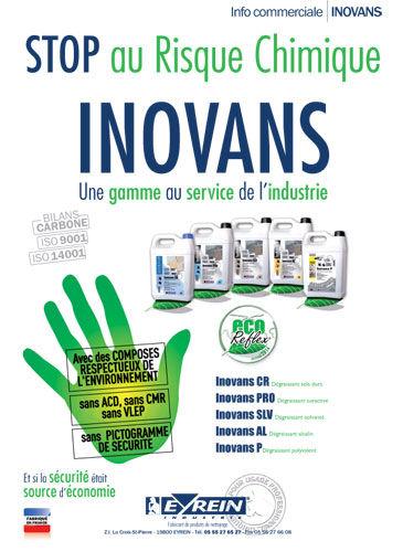 Inovans : une gamme de produits pour l'industrie