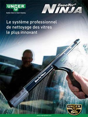Le système professionnel de nettoyage des vitres le plus innovant