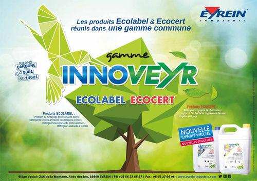 Les produits Ecolabel & Ecocert réunis dans une gamme commune